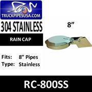 Buy cheap Rain Caps 8'' Exhaust Rain Cap Stainless Steel RC-800SS from wholesalers