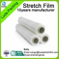 China china lldpe stretch film for pallet wrapping machine use hand use pe/pvc stretch packing film wholesale