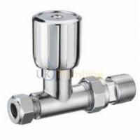"China Heating Controls Pegler Terrier 1/2""X15MM Wheel Head Straight Towel Rail Valve Chrome wholesale"