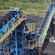 nonmetal coal belt conveyor system