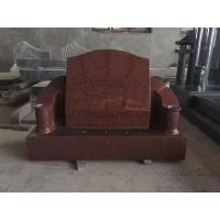 China Red Monument, Cemetery Hand Carved Tombstones wholesale