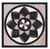 China Luxary Square Waterjet Marble Floor wholesale