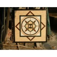 China Natural Square Waterjet Design Marble Floor wholesale