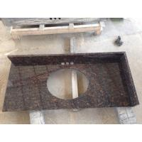 China Tan Brown Granite Countertops Vanity Tops wholesale