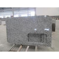 China Sea Wave White Granite spary White Countertops Vanity Tops wholesale
