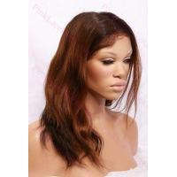 Alexa T-#2/#30 Natural Straight Full Lace wig in 14 inches