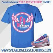 Fly N Any Weather T-Shirt to match KD 6 Aunt Pearl Sneakers