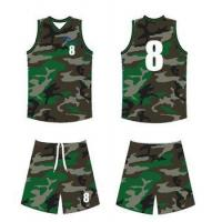 Buy cheap Camo basketball uniform from wholesalers