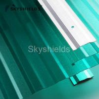 China Polycarbonate sheet 【Skyshields】PC embossed and corrugated sheet wholesale