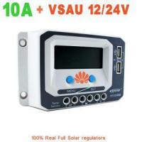 Buy cheap 10A EPever VS1024AU PWM EPsolar Solar Charge Controller 12V/24V auto work from wholesalers