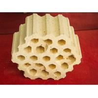 Buy cheap Abnormal Shape Refractory Brick 19 Hole Lattices Brick from wholesalers