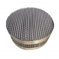 Buy cheap Rolled Pore Plate Corrugated Packing from wholesalers