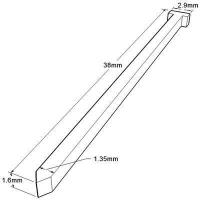 Buy cheap 16 Gauge Finish Nail - 38 mm from wholesalers