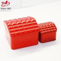 China Chinese red tin / red tins with different shapes wholesale