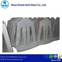 China Impact Resistant High Mn Steel Coal Mill Wavy Liners wholesale