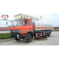 Dongfeng double rear axle water tank truck