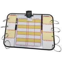 China Accountability Deluxe Status Board with Clock on sale