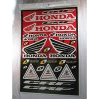 N Style Honda Universal Sticker Kit Decals Graphic 1 One Industries CRF Pro Bike - FREE SHIPPING