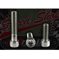 Buy cheap ACE 50/125 Bolt. M6. 1.00 pitch. Zinc plated. Socket cap. Choice of length. from wholesalers