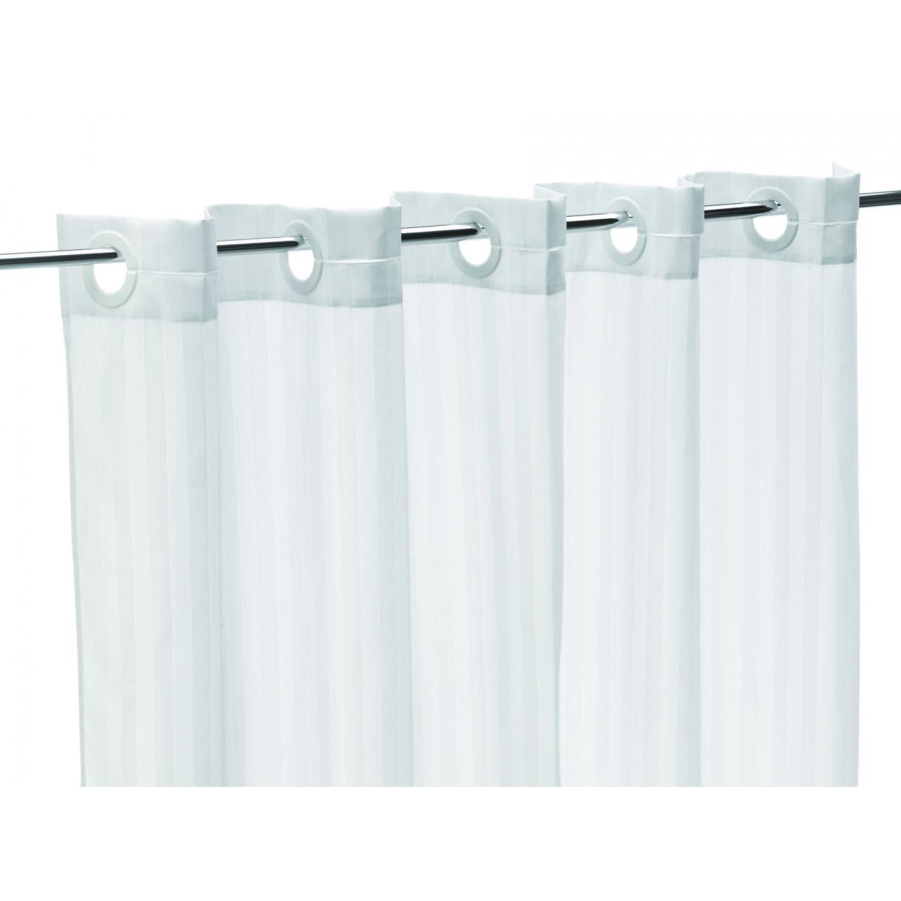 QUICK-FIT SHOWER CURTAIN (PACK OF 5)
