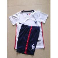 National Team Product Name:France Away Kid jerseys