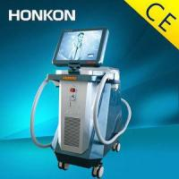 Diode laser for hair removal and skin rejuvenation machine