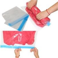 China PA+PE Roll-Up Organizer save space clear storage bag wholesale