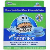China Scrubbing Bubbles Toilet Cleaner Drop Ins 3 ct, Pack of 6 wholesale