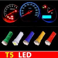 Buy cheap T5 1 SMD 5050 Dashboard Wedge 1 LED Car Light Bulb Lamp Car Interior Lamp 12V from wholesalers