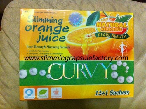 Quality Slimming Orange Juice Weight Loss Slimming Drink for sale