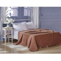 China Hot Sale High Density Hotel Cashmere Wool Polyester Blanket wholesale