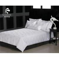 Factory Wholesale Cheap White 100 Cotton Jacquard Bed Sheet