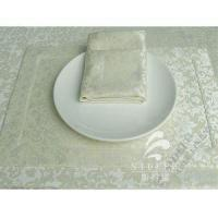 China Woven Placemats Hotel Breakfast Buffet Polyester Placemats Anti Slip wholesale