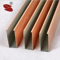 Buy cheap Aluminum ceiling material baffle ceiling from wholesalers