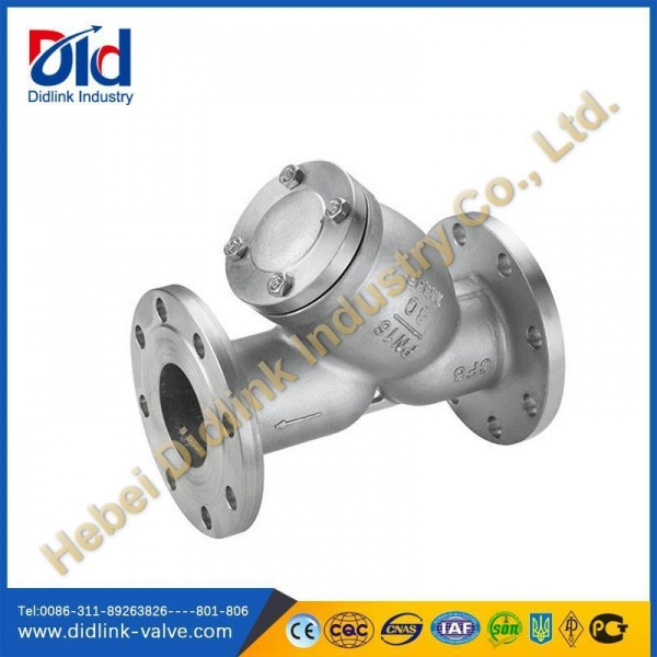 China DIN Stainless steel Y Strainer, sanitary y strainer, 3 y strainer API602,BS5352,ANSI B16.34