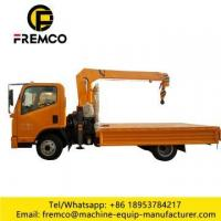 Buy cheap 5mx4 sections Crane on Truck from wholesalers