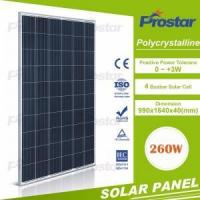 Buy cheap 1 Prostar solar 260 watt 60 cell polycrystalline silicon for renewable energy resources from wholesalers