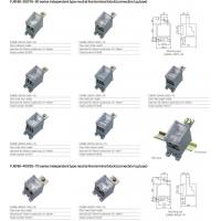 Buy cheap FJ6NB-250/16-50 series independent type neutral line terminal block(connection lug type) from wholesalers