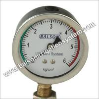 China Irrigation Pressure Gauges wholesale