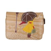 Buy cheap 58013 girl with umbrella cityscape small purse from wholesalers