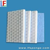 China Melamine Sponge Compound Scouring Pad on sale