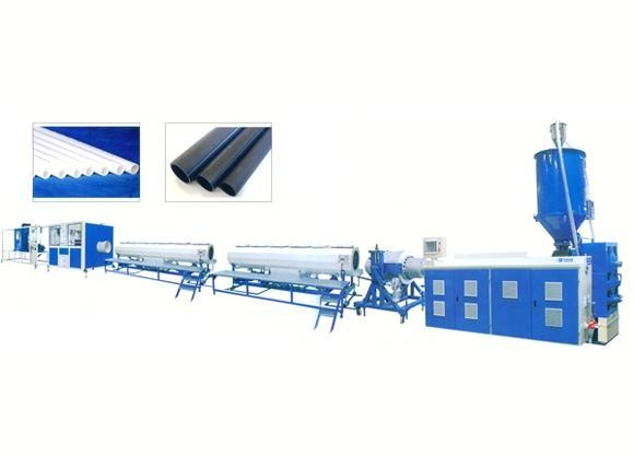 China PE, PPR, PE-RT Pipe Production Line