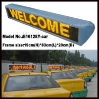 China Product:P6 LED Taxi Roof Sign wholesale