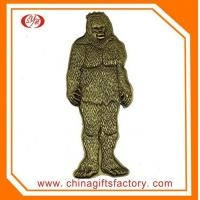 China Custon antique apes and monkey home & business gift art decorations metal crafts for souvenir wholesale