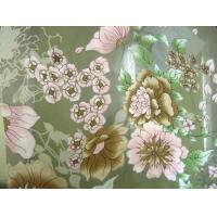 product: Background discharge +Direct-printing synchronization Opal finished georgette crepe