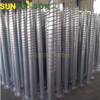 China Ground Screw Solar Power Station Mounting PV Mounting Structure wholesale