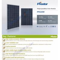 China Prostar solar energy facts 230w solar panel price for solar power plant on sale