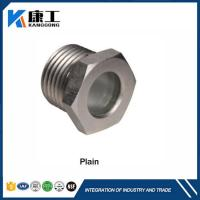 High Pressure Fused Steel Sight Glass , Pipe Threaded