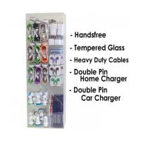 China Display Box Accessories -200 Pieces /w Heavy Duty Cables & Double Pin Charger on sale