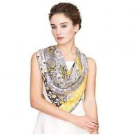 Buy cheap Hand painted and great quality Twill Silk Scarves from wholesalers
